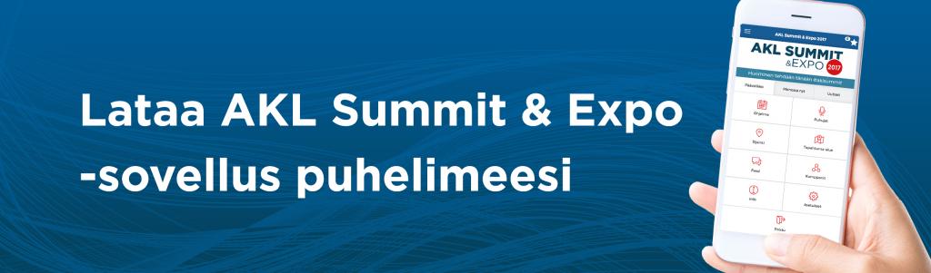 Lataa puhelimeesi AKL Summit & Expo -sovellus