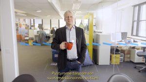 VIDEO Grano Dieselin toimitusjohtaja Marko Toivonen: Miksi olla aallonharjalla, kun voi olla luomassa uusia aaltoja